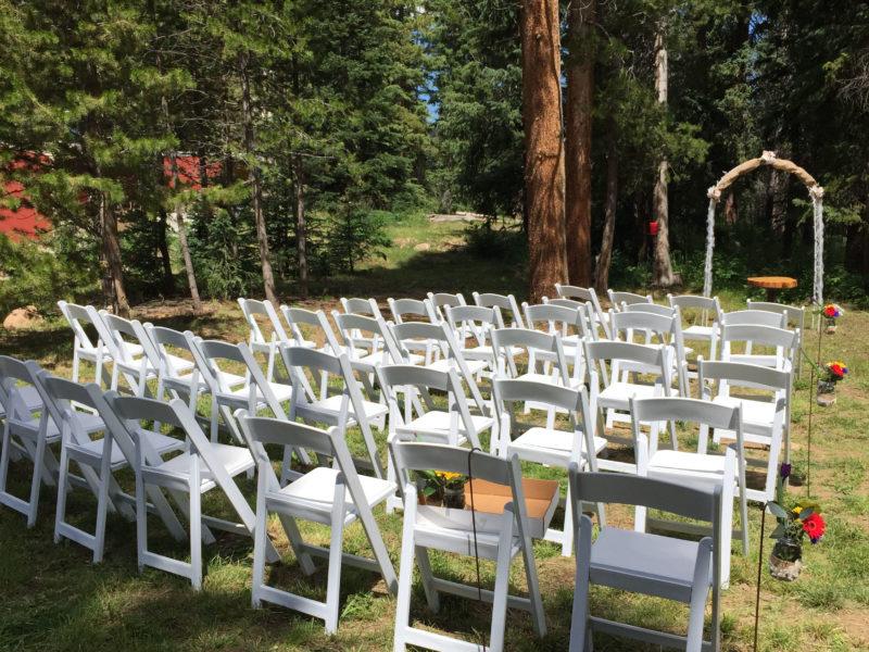 Winter Park Colorado Outdoor Wedding Ceremony Reception Venue