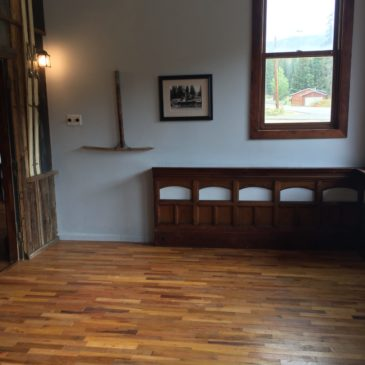 New & Reclaimed Hardwood Floor